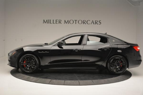 New 2018 Maserati Ghibli SQ4 GranSport Nerissimo for sale Sold at Bugatti of Greenwich in Greenwich CT 06830 3
