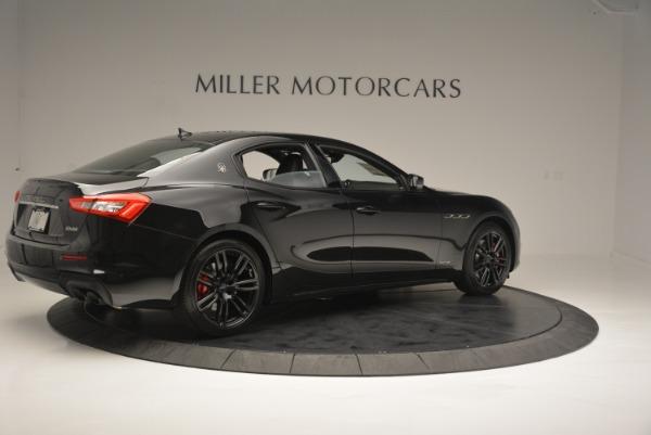 New 2018 Maserati Ghibli SQ4 GranSport Nerissimo for sale Sold at Bugatti of Greenwich in Greenwich CT 06830 8
