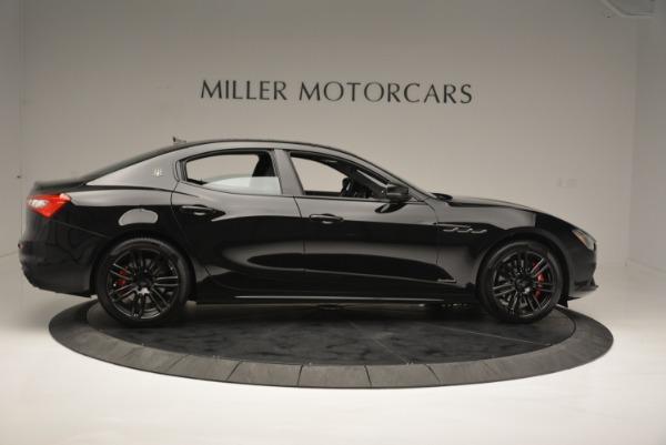 New 2018 Maserati Ghibli SQ4 GranSport Nerissimo for sale Sold at Bugatti of Greenwich in Greenwich CT 06830 9