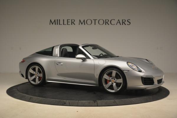 Used 2017 Porsche 911 Targa 4S for sale Sold at Bugatti of Greenwich in Greenwich CT 06830 10