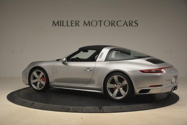 Used 2017 Porsche 911 Targa 4S for sale Sold at Bugatti of Greenwich in Greenwich CT 06830 16