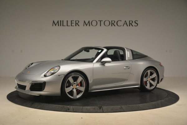 Used 2017 Porsche 911 Targa 4S for sale Sold at Bugatti of Greenwich in Greenwich CT 06830 2