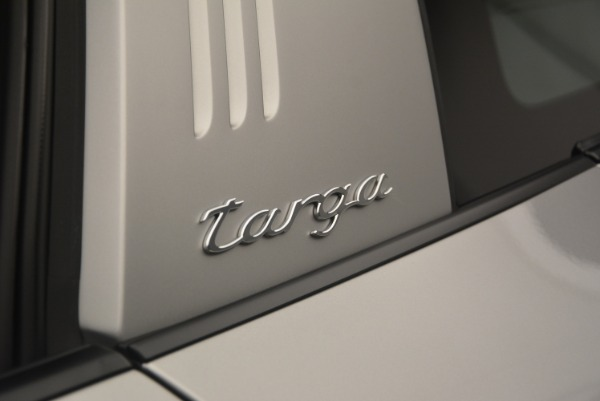 Used 2017 Porsche 911 Targa 4S for sale Sold at Bugatti of Greenwich in Greenwich CT 06830 27