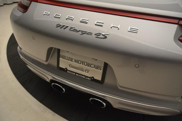 Used 2017 Porsche 911 Targa 4S for sale Sold at Bugatti of Greenwich in Greenwich CT 06830 28