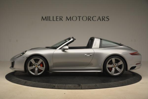 Used 2017 Porsche 911 Targa 4S for sale Sold at Bugatti of Greenwich in Greenwich CT 06830 3