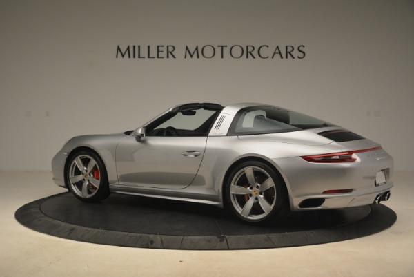 Used 2017 Porsche 911 Targa 4S for sale Sold at Bugatti of Greenwich in Greenwich CT 06830 4