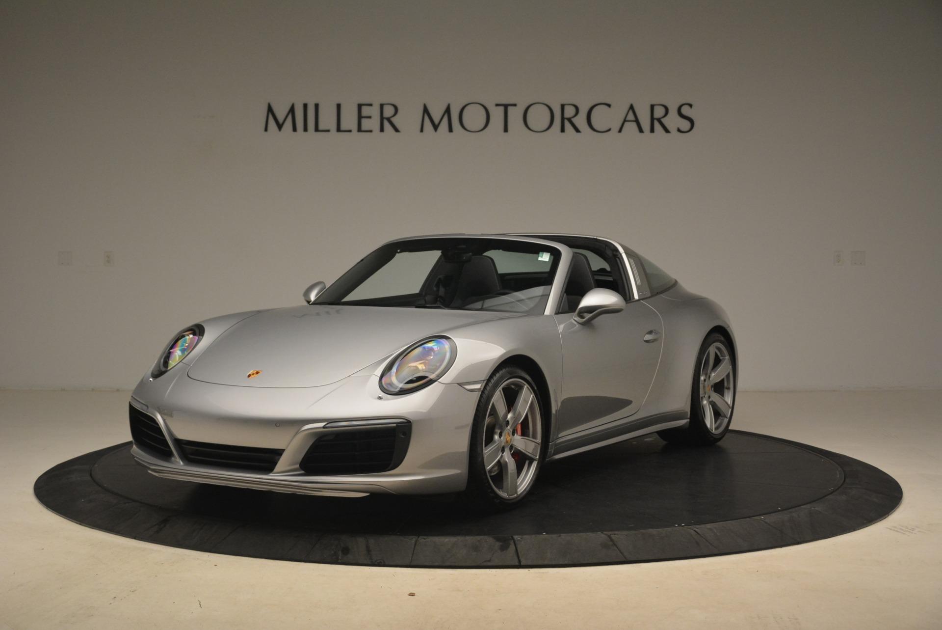 Used 2017 Porsche 911 Targa 4S for sale Sold at Bugatti of Greenwich in Greenwich CT 06830 1