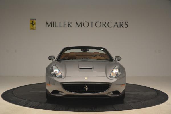 Used 2012 Ferrari California for sale Sold at Bugatti of Greenwich in Greenwich CT 06830 12