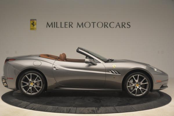 Used 2012 Ferrari California for sale Sold at Bugatti of Greenwich in Greenwich CT 06830 9
