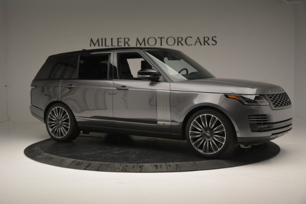 Used 2018 Land Rover Range Rover Supercharged LWB for sale Sold at Bugatti of Greenwich in Greenwich CT 06830 10