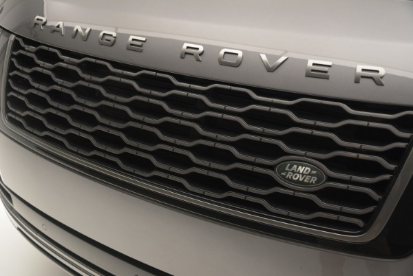 Used 2018 Land Rover Range Rover Supercharged LWB for sale Sold at Bugatti of Greenwich in Greenwich CT 06830 13