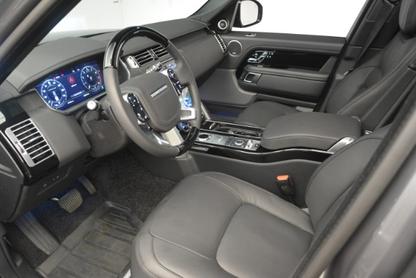 Used 2018 Land Rover Range Rover Supercharged LWB for sale Sold at Bugatti of Greenwich in Greenwich CT 06830 17