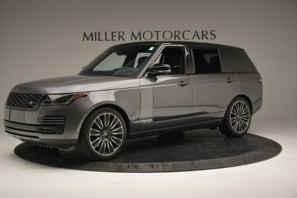 Used 2018 Land Rover Range Rover Supercharged LWB for sale Sold at Bugatti of Greenwich in Greenwich CT 06830 2