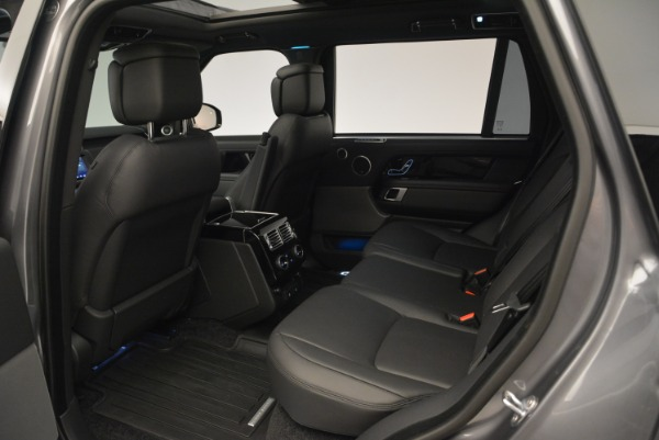 Used 2018 Land Rover Range Rover Supercharged LWB for sale Sold at Bugatti of Greenwich in Greenwich CT 06830 20