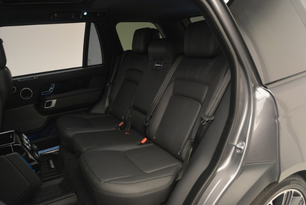 Used 2018 Land Rover Range Rover Supercharged LWB for sale Sold at Bugatti of Greenwich in Greenwich CT 06830 21