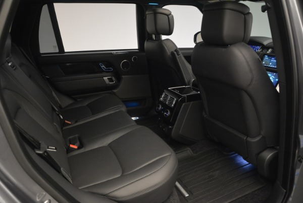 Used 2018 Land Rover Range Rover Supercharged LWB for sale Sold at Bugatti of Greenwich in Greenwich CT 06830 26