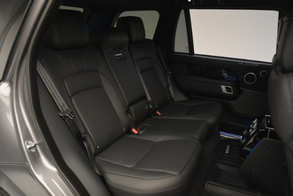 Used 2018 Land Rover Range Rover Supercharged LWB for sale Sold at Bugatti of Greenwich in Greenwich CT 06830 27