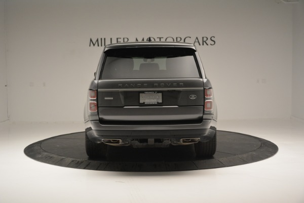 Used 2018 Land Rover Range Rover Supercharged LWB for sale Sold at Bugatti of Greenwich in Greenwich CT 06830 6