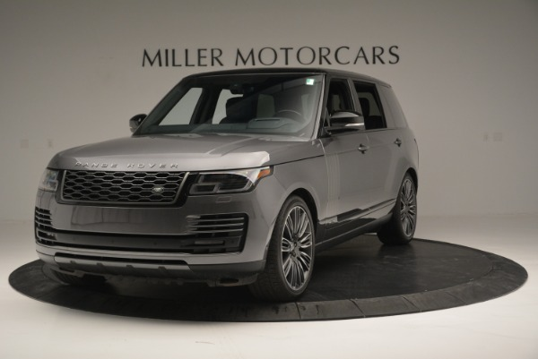 Used 2018 Land Rover Range Rover Supercharged LWB for sale Sold at Bugatti of Greenwich in Greenwich CT 06830 1
