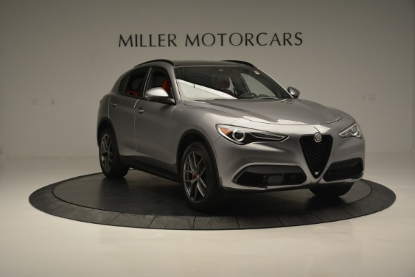 New 2018 Alfa Romeo Stelvio Ti Sport Q4 for sale Sold at Bugatti of Greenwich in Greenwich CT 06830 11
