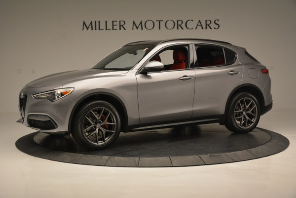 New 2018 Alfa Romeo Stelvio Ti Sport Q4 for sale Sold at Bugatti of Greenwich in Greenwich CT 06830 3