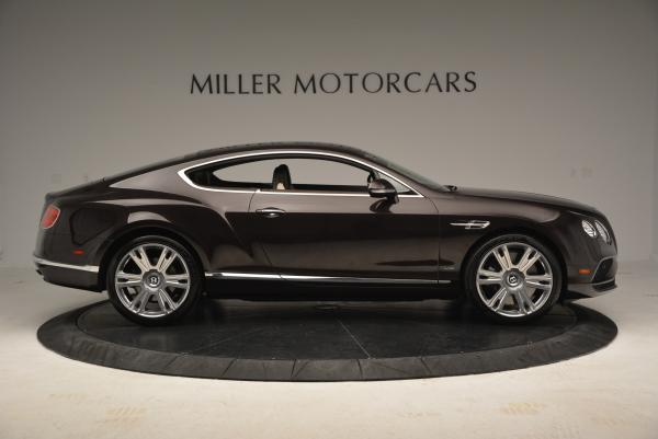 Used 2016 Bentley Continental GT W12 for sale Sold at Bugatti of Greenwich in Greenwich CT 06830 9