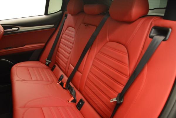 New 2018 Alfa Romeo Stelvio Ti Sport Q4 for sale Sold at Bugatti of Greenwich in Greenwich CT 06830 20