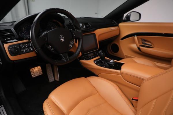 Used 2018 Maserati GranTurismo Sport for sale Sold at Bugatti of Greenwich in Greenwich CT 06830 20