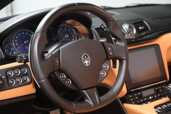 Used 2018 Maserati GranTurismo Sport for sale Sold at Bugatti of Greenwich in Greenwich CT 06830 25
