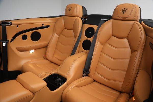 Used 2018 Maserati GranTurismo Sport for sale Sold at Bugatti of Greenwich in Greenwich CT 06830 27