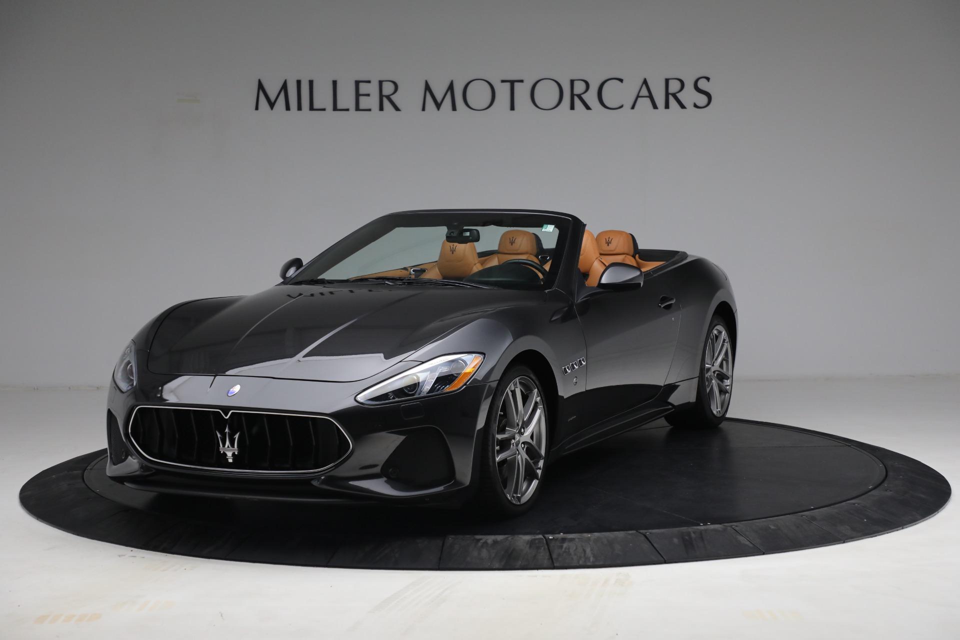 Used 2018 Maserati GranTurismo Sport for sale Sold at Bugatti of Greenwich in Greenwich CT 06830 1