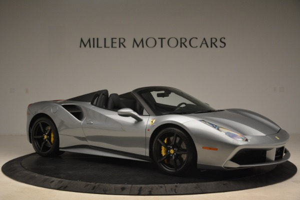 Used 2018 Ferrari 488 Spider for sale $274,900 at Bugatti of Greenwich in Greenwich CT 06830 10