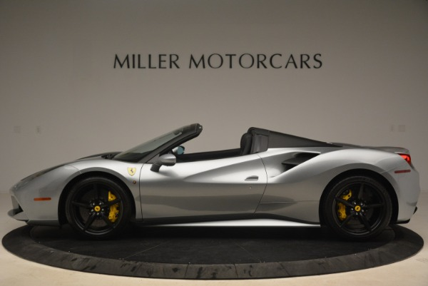 Used 2018 Ferrari 488 Spider for sale $274,900 at Bugatti of Greenwich in Greenwich CT 06830 3