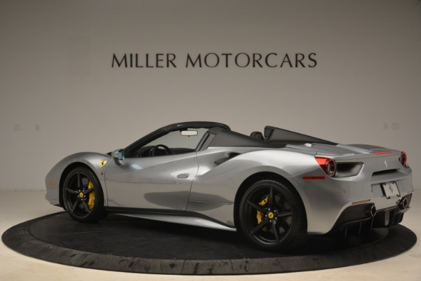 Used 2018 Ferrari 488 Spider for sale $274,900 at Bugatti of Greenwich in Greenwich CT 06830 4