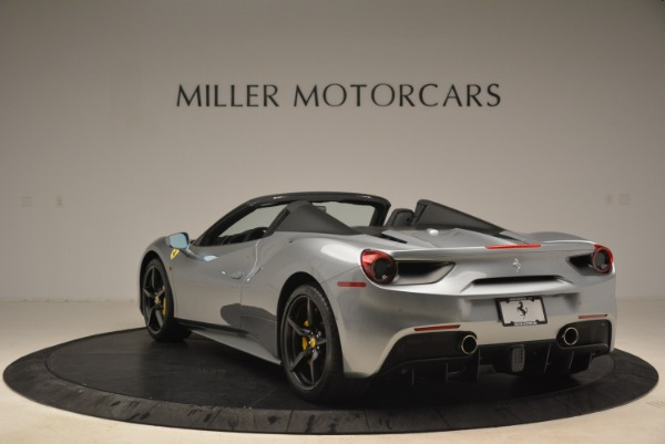 Used 2018 Ferrari 488 Spider for sale $274,900 at Bugatti of Greenwich in Greenwich CT 06830 5