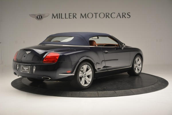 Used 2008 Bentley Continental GTC GT for sale Sold at Bugatti of Greenwich in Greenwich CT 06830 18