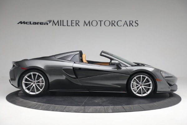 Used 2018 McLaren 570S Spider for sale Sold at Bugatti of Greenwich in Greenwich CT 06830 10