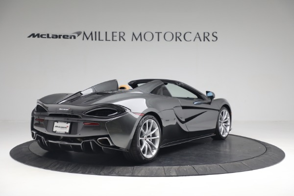 Used 2018 McLaren 570S Spider for sale Sold at Bugatti of Greenwich in Greenwich CT 06830 7