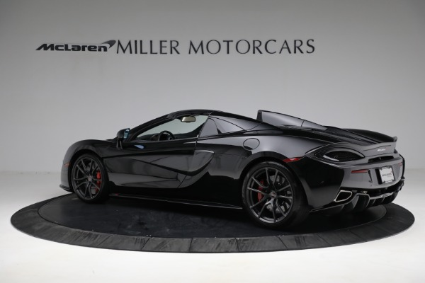 New 2018 McLaren 570S Spider for sale Sold at Bugatti of Greenwich in Greenwich CT 06830 4