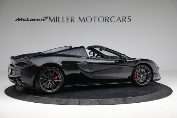 New 2018 McLaren 570S Spider for sale Sold at Bugatti of Greenwich in Greenwich CT 06830 8