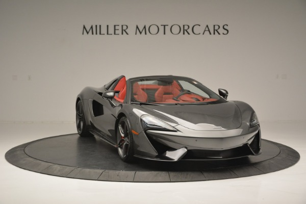 New 2018 McLaren 570S Spider for sale Sold at Bugatti of Greenwich in Greenwich CT 06830 11