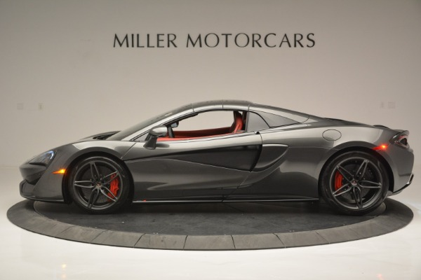 New 2018 McLaren 570S Spider for sale Sold at Bugatti of Greenwich in Greenwich CT 06830 16