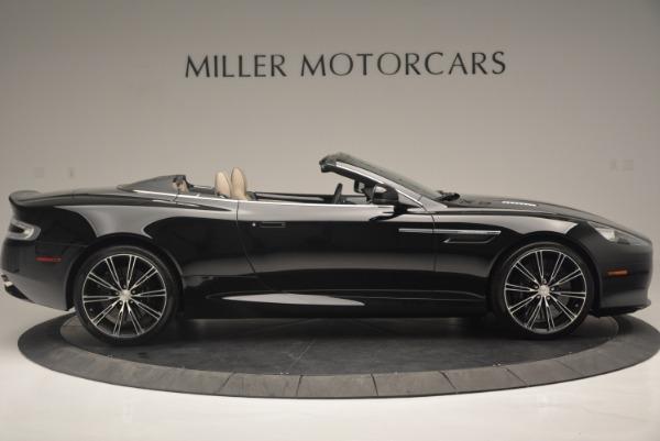 Used 2015 Aston Martin DB9 Volante for sale Sold at Bugatti of Greenwich in Greenwich CT 06830 9
