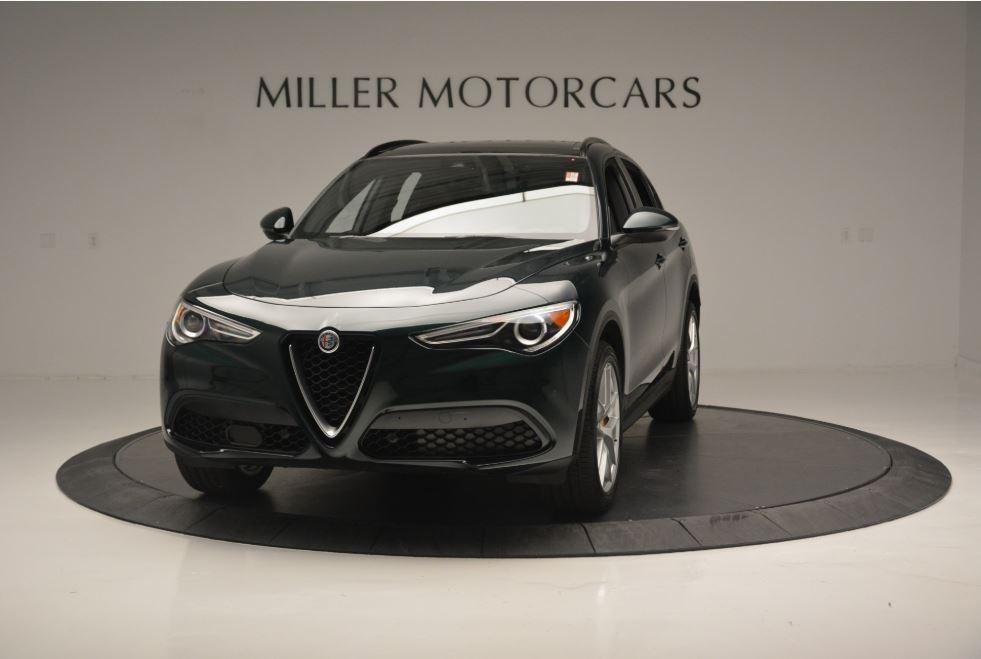 New 2018 Alfa Romeo Stelvio Ti Sport Q4 for sale Sold at Bugatti of Greenwich in Greenwich CT 06830 1