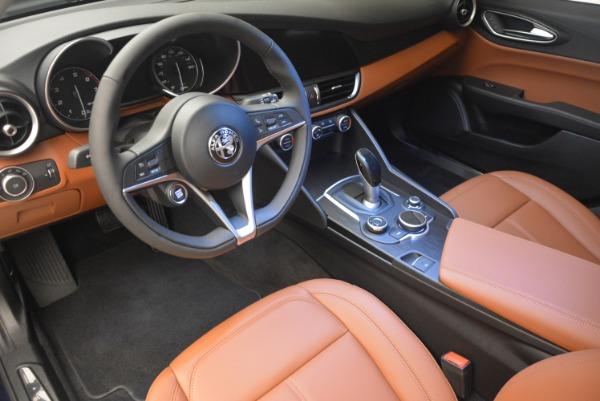 New 2018 Alfa Romeo Giulia Q4 for sale Sold at Bugatti of Greenwich in Greenwich CT 06830 15