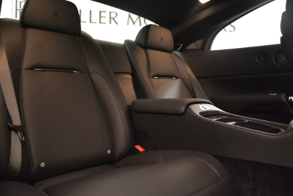 Used 2015 Rolls-Royce Wraith for sale $159,900 at Bugatti of Greenwich in Greenwich CT 06830 23