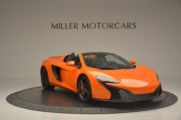 Used 2015 McLaren 650S Spider for sale Sold at Bugatti of Greenwich in Greenwich CT 06830 11