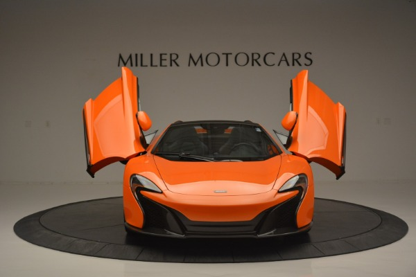 Used 2015 McLaren 650S Spider for sale Sold at Bugatti of Greenwich in Greenwich CT 06830 13