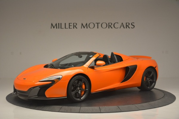 Used 2015 McLaren 650S Spider for sale Sold at Bugatti of Greenwich in Greenwich CT 06830 2