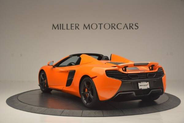 Used 2015 McLaren 650S Spider for sale Sold at Bugatti of Greenwich in Greenwich CT 06830 5